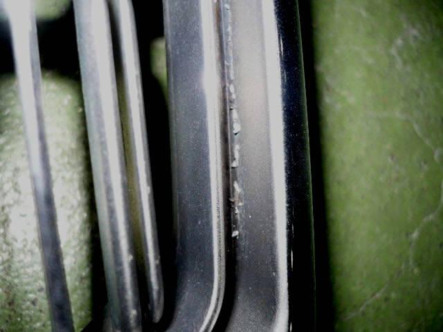 Решетка радиатора TOYOTA CROWN JZS155. Фото 2
