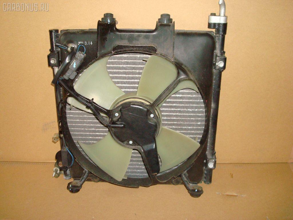 Радиатор кондиционера HONDA HR-V GH1 D16A. Фото 3