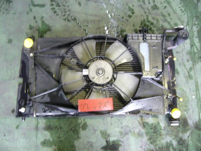 Радиатор ДВС TOYOTA COROLLA NZE124 1NZ-FE. Фото 5