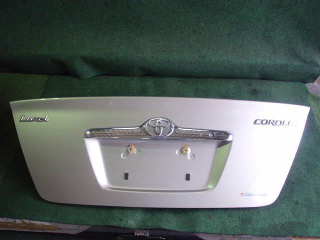 Крышка багажника TOYOTA COROLLA ZZE122. Фото 6