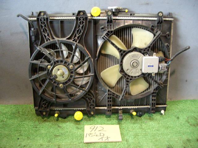 Радиатор ДВС MITSUBISHI PAJERO IO H66W 4G93. Фото 2