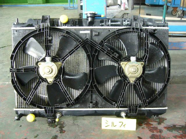 Радиатор ДВС NISSAN BLUEBIRD SYLPHY QG10 QG18DE. Фото 2