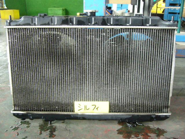 Радиатор ДВС NISSAN BLUEBIRD SYLPHY QG10 QG18DE. Фото 1