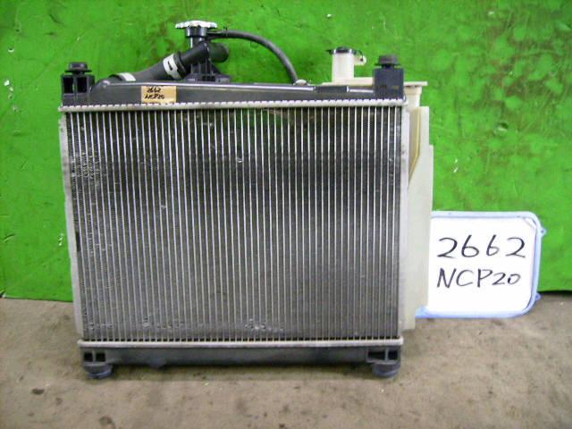 Радиатор ДВС TOYOTA IST NCP61 1NZ-FE. Фото 10