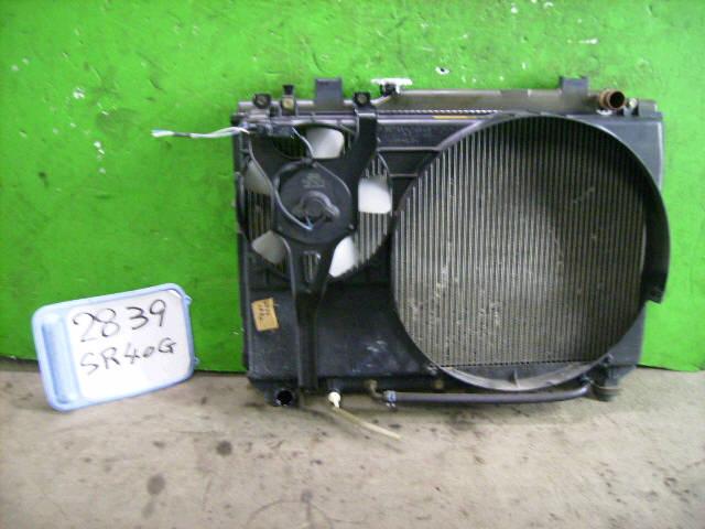 Радиатор ДВС TOYOTA LITE ACE NOAH SR40G 3S-FE. Фото 8