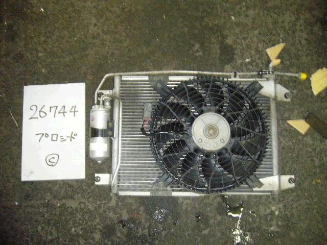 Радиатор кондиционера MAZDA PROCEED LEVANTE TJ52W J20A. Фото 4