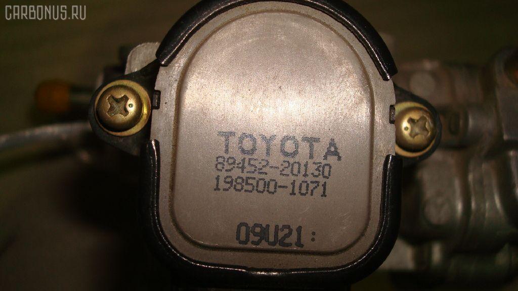 Дроссельная заслонка TOYOTA PLATZ NCP12 1NZ-FE. Фото 3