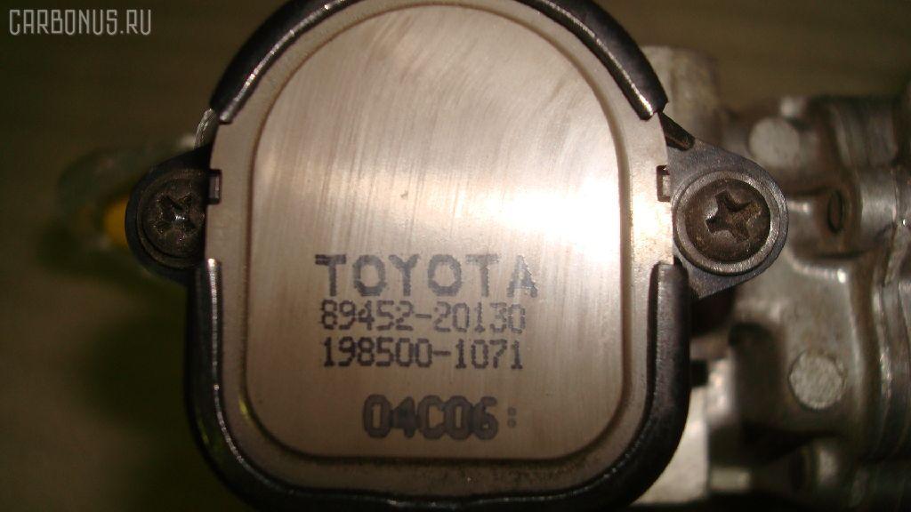 Дроссельная заслонка TOYOTA PLATZ NCP12 1NZ-FE. Фото 7
