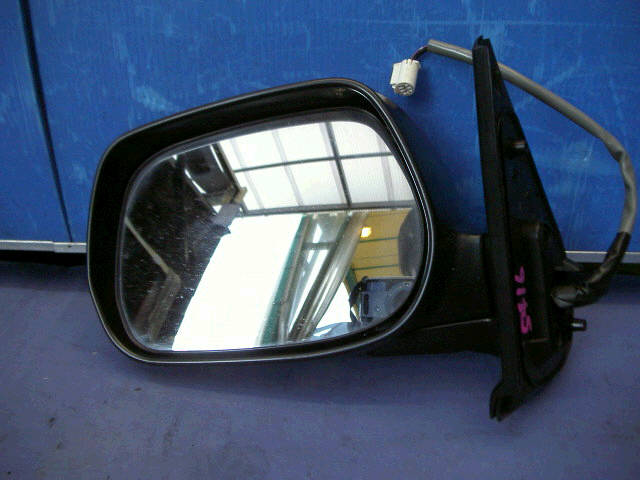Зеркало двери боковой TOYOTA SIENTA NCP81G. Фото 7