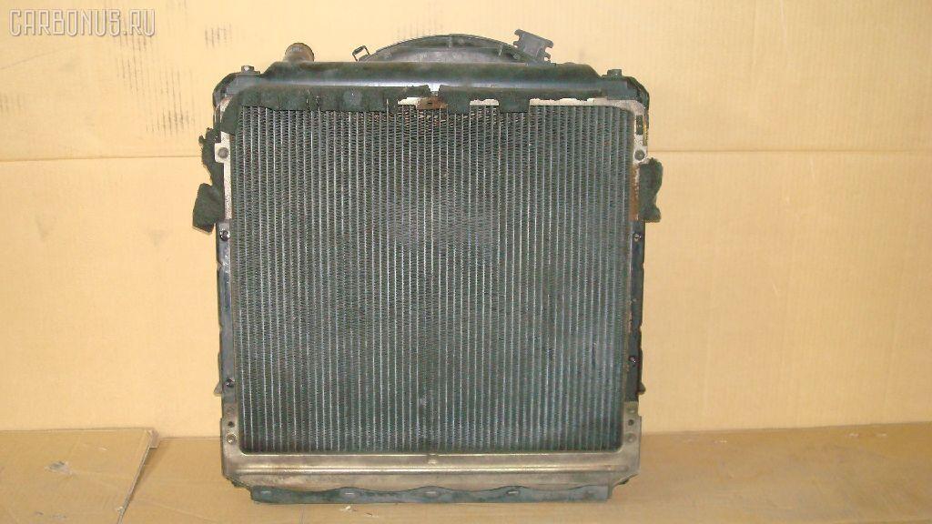 Радиатор ДВС TOYOTA DYNA BU102 15B-F. Фото 1