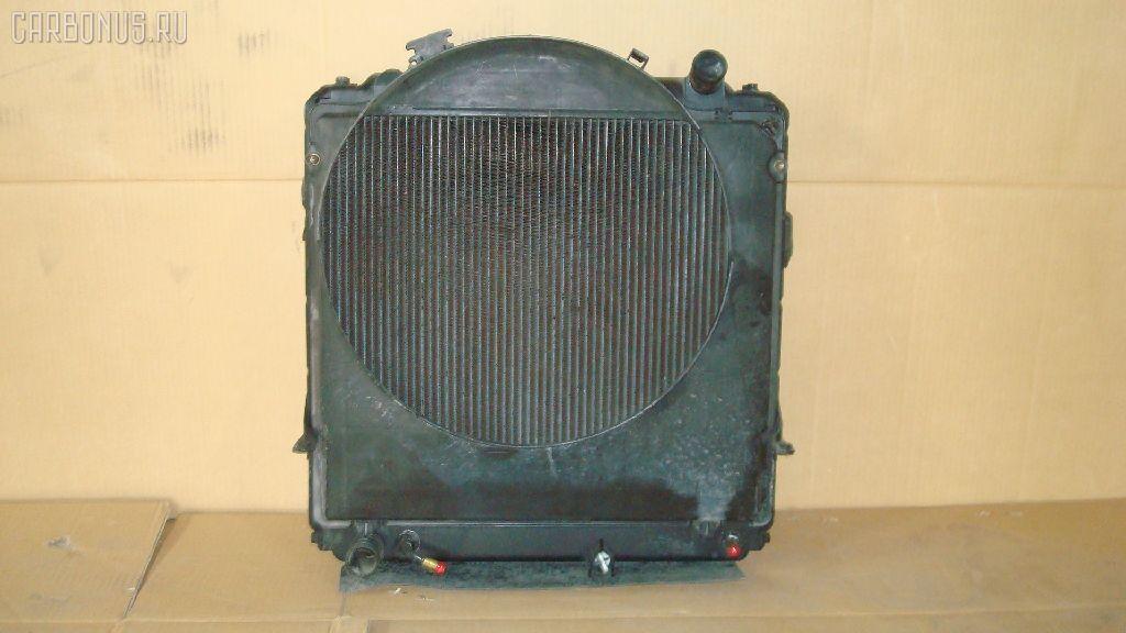 Радиатор ДВС TOYOTA DYNA BU102 15B-F. Фото 2