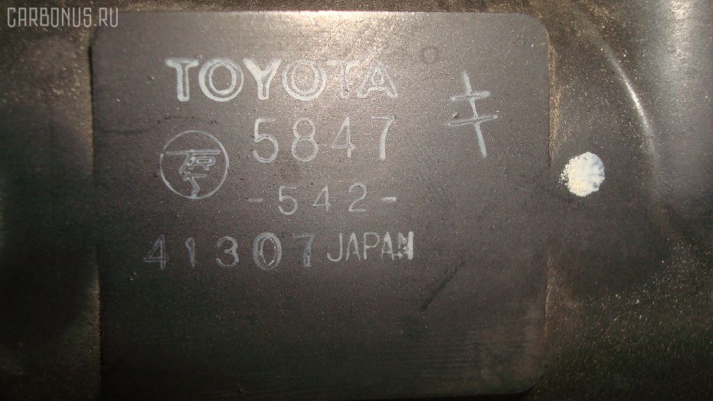 Радиатор ДВС TOYOTA DYNA BU102 15B-F. Фото 3