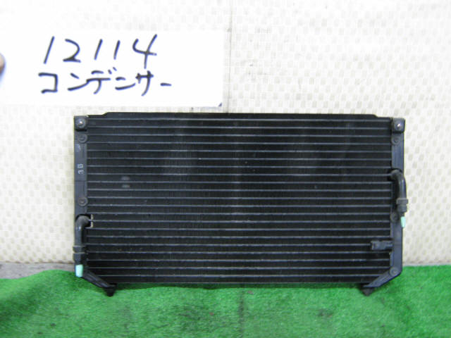Радиатор кондиционера TOYOTA CALDINA AT191G 7A-FE. Фото 4