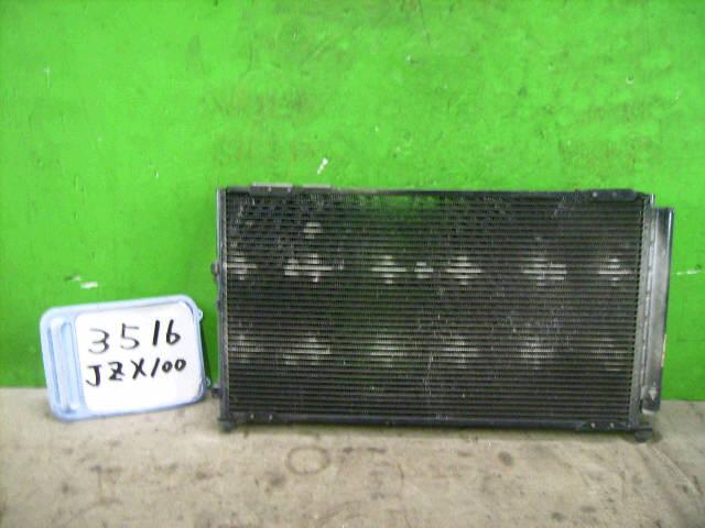 Радиатор кондиционера TOYOTA CHASER JZX100 1JZ-GTE. Фото 4