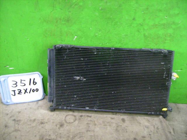 Радиатор кондиционера TOYOTA CHASER JZX100 1JZ-GTE. Фото 3