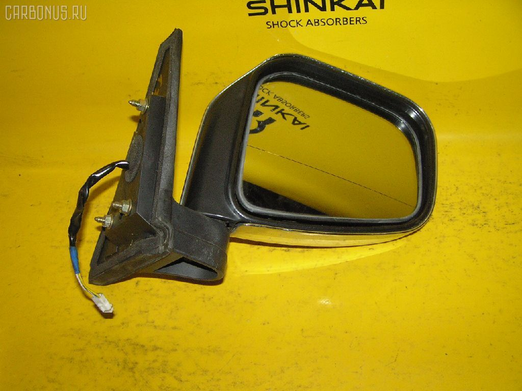 Зеркало двери боковой MITSUBISHI PAJERO IO H66W. Фото 3