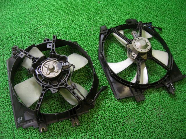 Вентилятор радиатора ДВС MAZDA PREMACY CP8W FP-DE. Фото 3