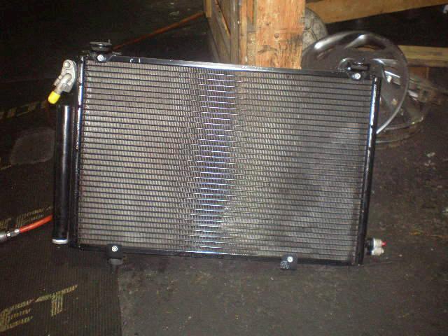 Радиатор кондиционера TOYOTA FUNCARGO NCP20 2NZ-FE. Фото 7