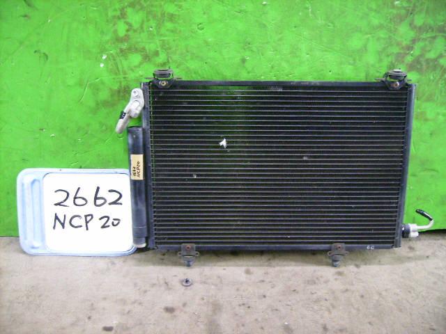 Радиатор кондиционера TOYOTA FUNCARGO NCP20 2NZ-FE. Фото 11