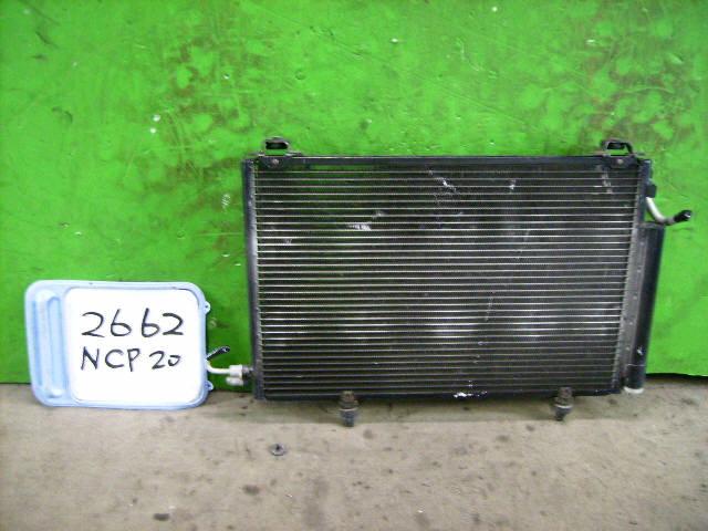 Радиатор кондиционера TOYOTA FUNCARGO NCP20 2NZ-FE. Фото 10