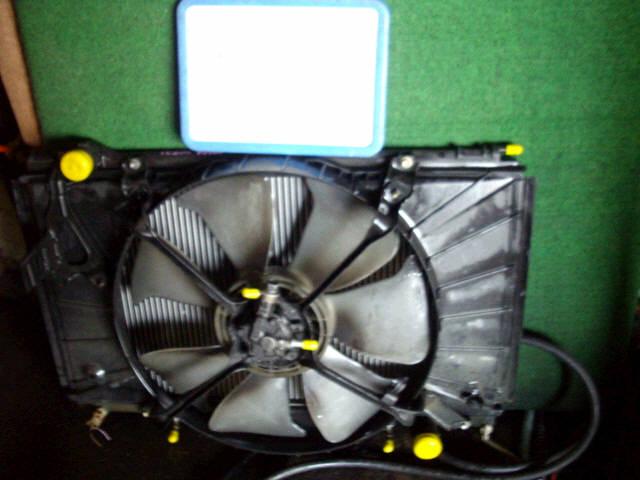 Радиатор ДВС TOYOTA CELSIOR UCF21 1UZ-FE. Фото 2