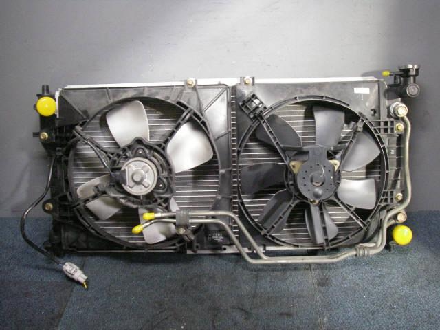Радиатор ДВС MAZDA CAPELLA WAGON GW8W FP-DE. Фото 3