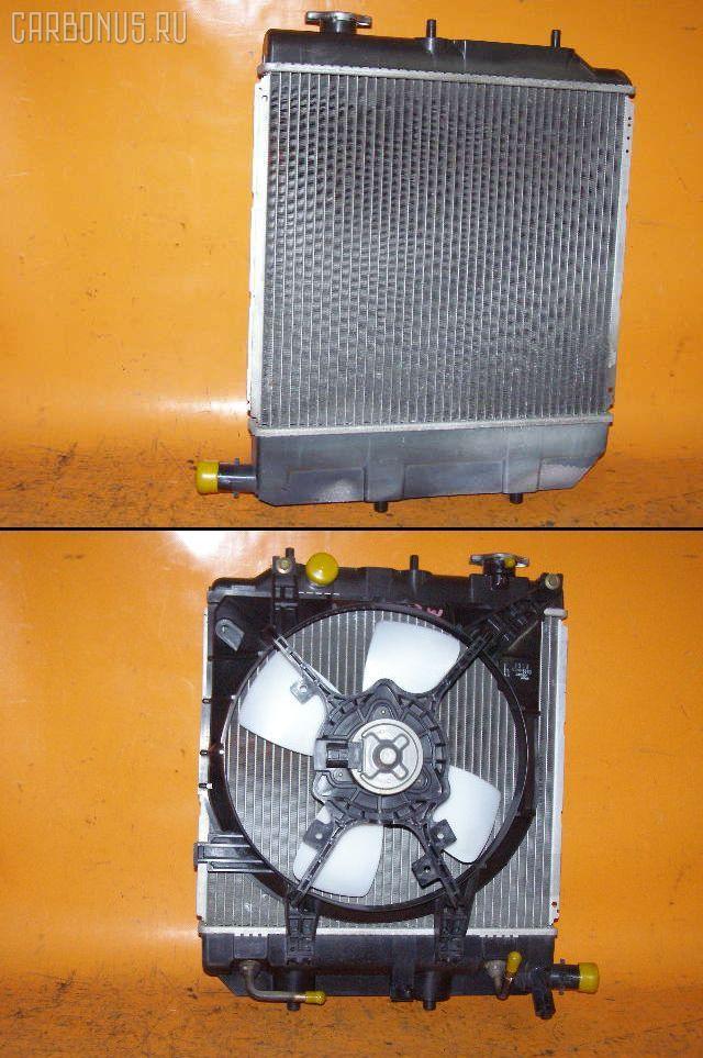 Радиатор ДВС MAZDA DEMIO DW3W B3-ME. Фото 4