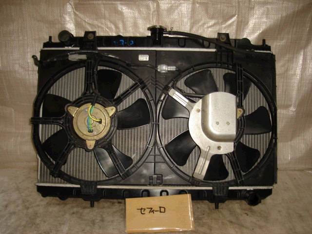 Радиатор ДВС NISSAN CEFIRO A33 VQ20DE. Фото 2