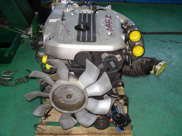 Двигатель NISSAN STAGEA WGNC34 RB25DET. Фото 3