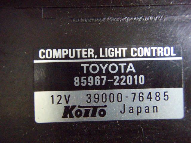 Фара TOYOTA MARK II JZX100. Фото 5