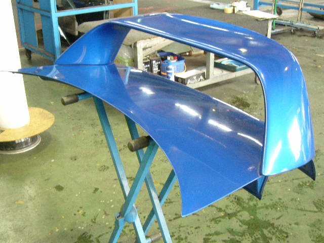 Крышка багажника SUBARU IMPREZA GC8. Фото 1