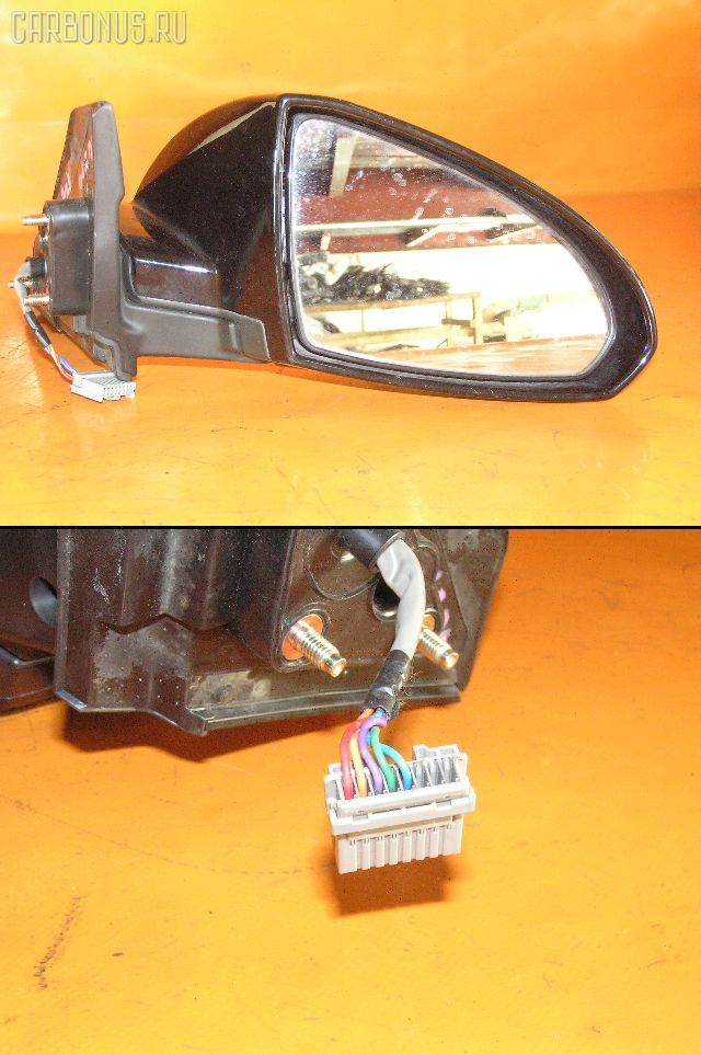 Зеркало двери боковой NISSAN WINGROAD WFY11. Фото 9