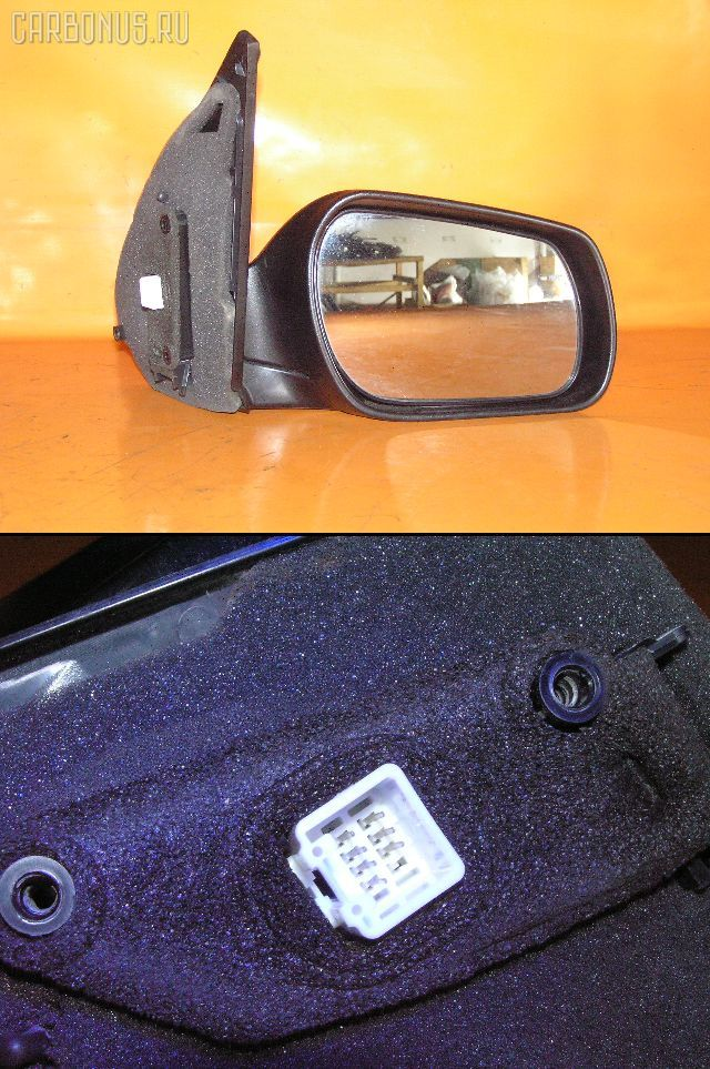 Зеркало двери боковой MAZDA DEMIO DY3R. Фото 6