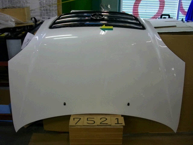 Капот TOYOTA NADIA SXN10. Фото 10