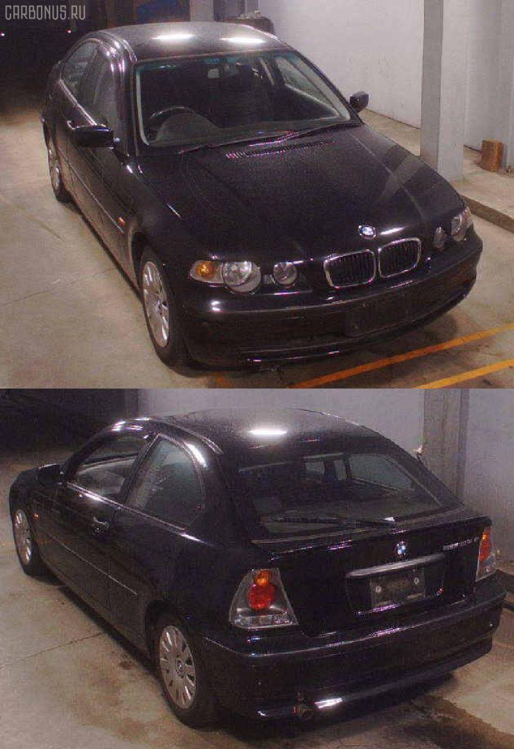 Порог кузова пластиковый ( обвес ) BMW 3-SERIES E46-AT52 Фото 4