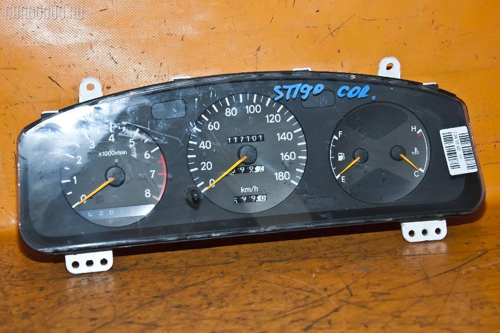 Спидометр TOYOTA CORONA ST190 4S-FE. Фото 1