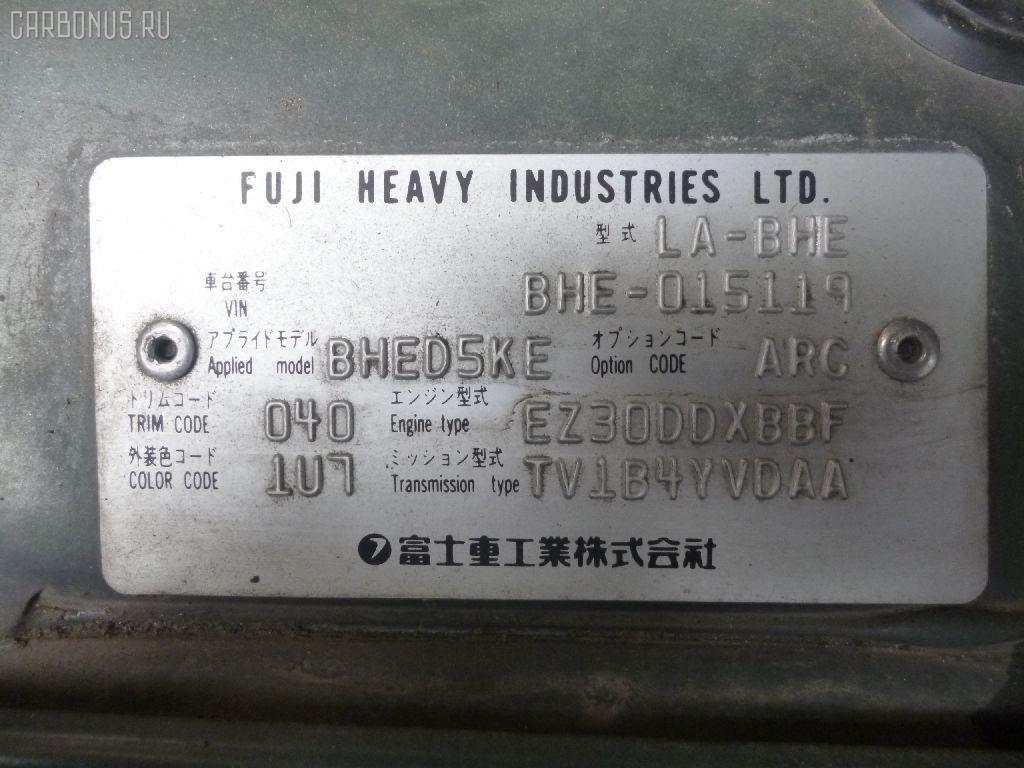 Радиатор печки SUBARU LEGACY LANCASTER BHE EZ30D Фото 2