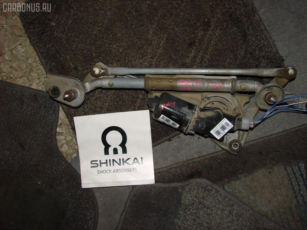 Мотор привода дворников TOYOTA IPSUM SXM15G. Фото 1