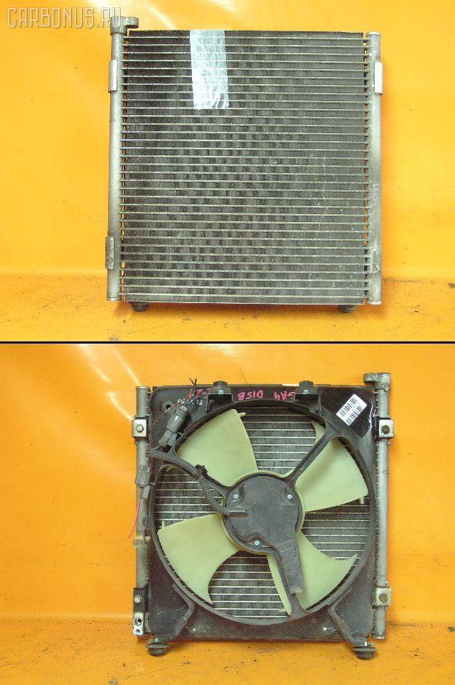 Радиатор кондиционера HONDA CAPA GA4 D15B. Фото 2