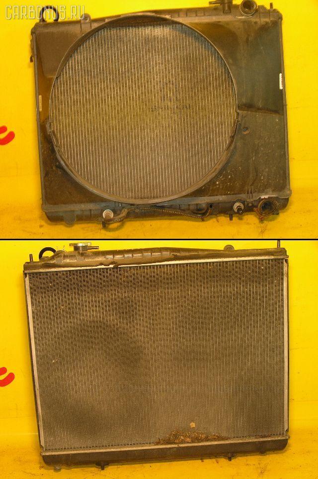 Радиатор ДВС NISSAN ELGRAND ALWE50 VG33E. Фото 4