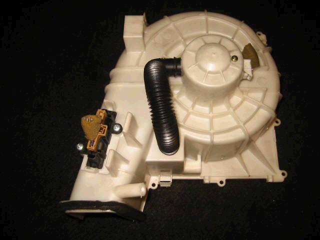Мотор печки NISSAN X-TRAIL NT30. Фото 5