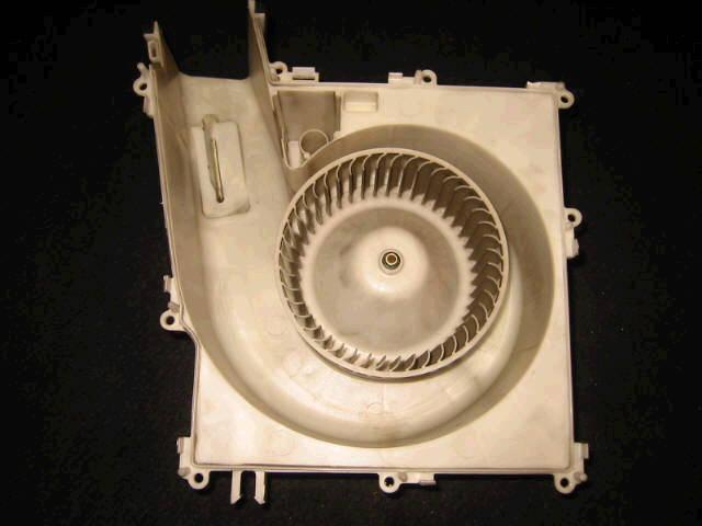 Мотор печки NISSAN X-TRAIL NT30. Фото 4