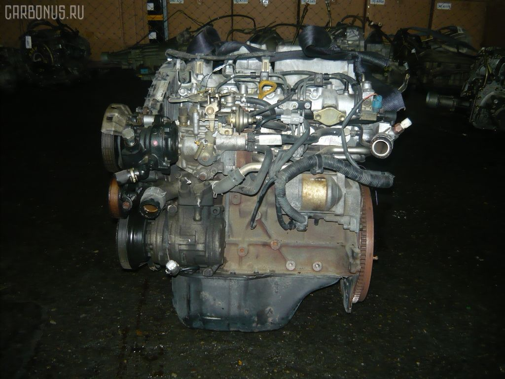 Двигатель TOYOTA CALDINA CT198V 2C. Фото 2