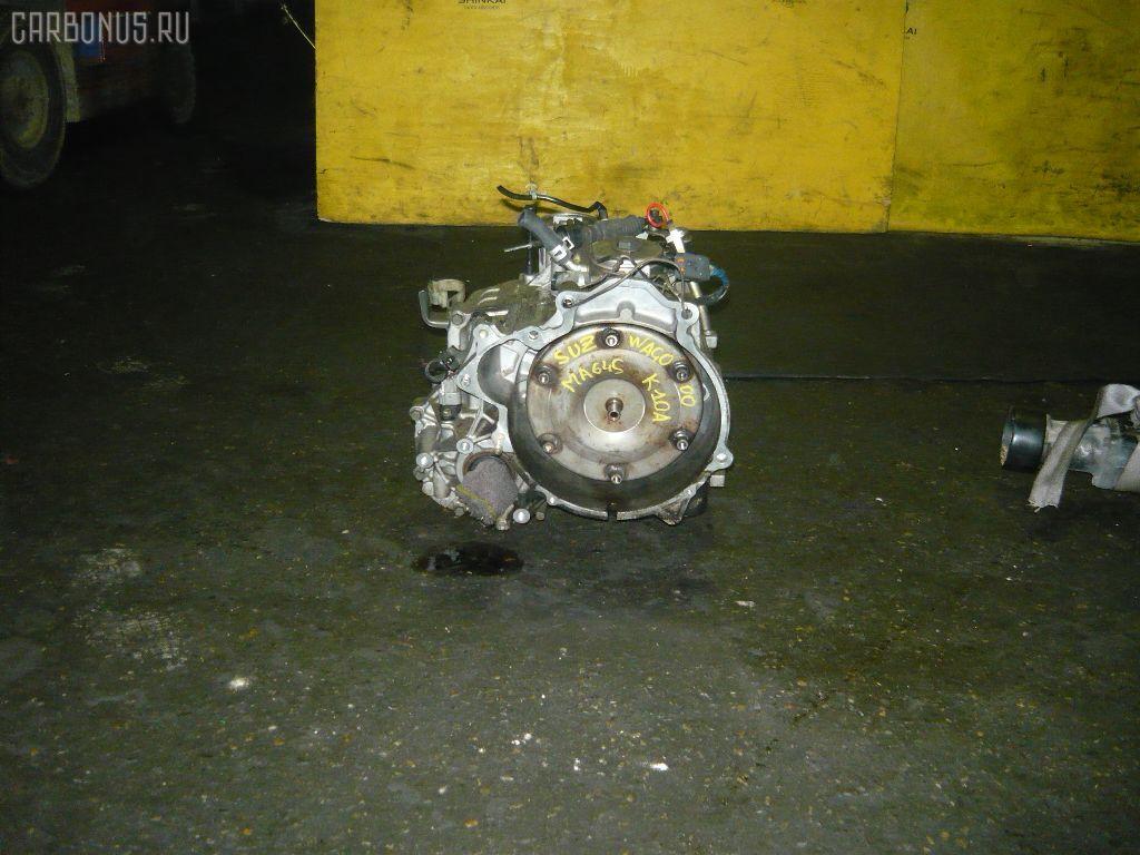 КПП автоматическая SUZUKI WAGON R SOLIO MA64S K10A. Фото 1