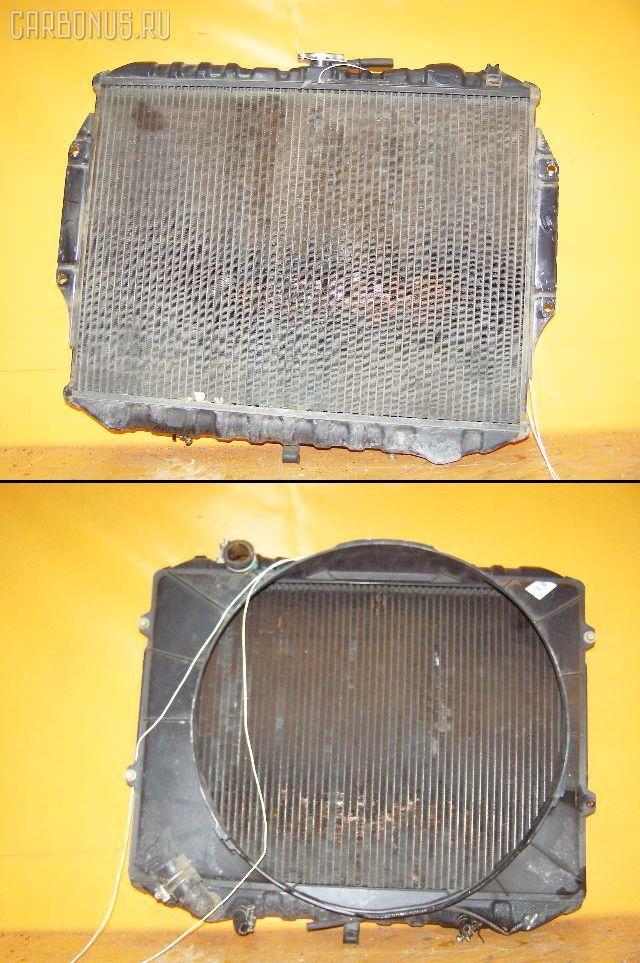 Радиатор ДВС MITSUBISHI PAJERO V43W 6G72. Фото 1