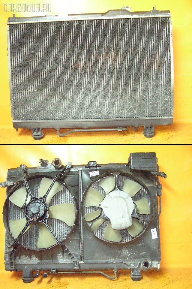 Радиатор ДВС TOYOTA GAIA SXM15G 3S-FE. Фото 9