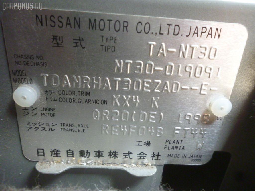Обшивка багажника NISSAN X-TRAIL NT30 Фото 2