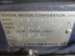 Порог кузова пластиковый ( обвес ) Toyota Hilux surf VZN185W Фото 2