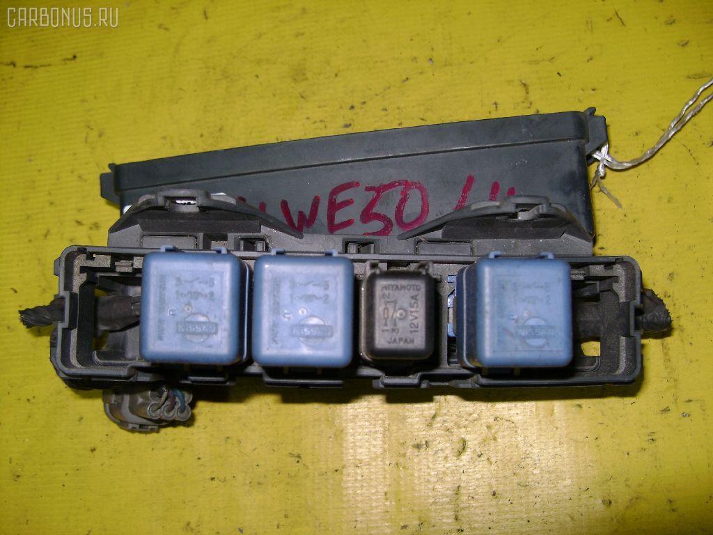 Блок предохранителей NISSAN ELGRAND ALWE50 VG33E. Фото 3