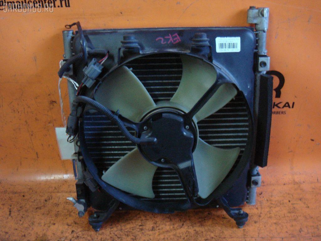 Радиатор кондиционера HONDA CIVIC EK2 D13B. Фото 2
